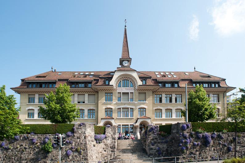 Etablissement primaire de Prélaz (Lausanne, VD)
